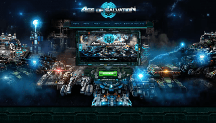 Age of Salvation Game Screen