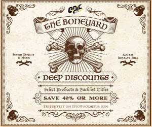 boneyard - Deep discount Sound Effects