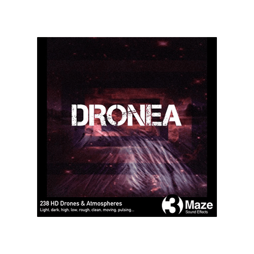 Dronea - collection of drones and atmosphere sound effects for games and film audio productions