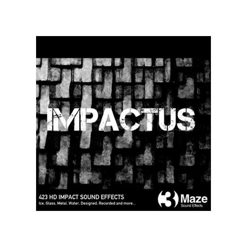 Impactus - collection of impact sound effects for games and film audio productions