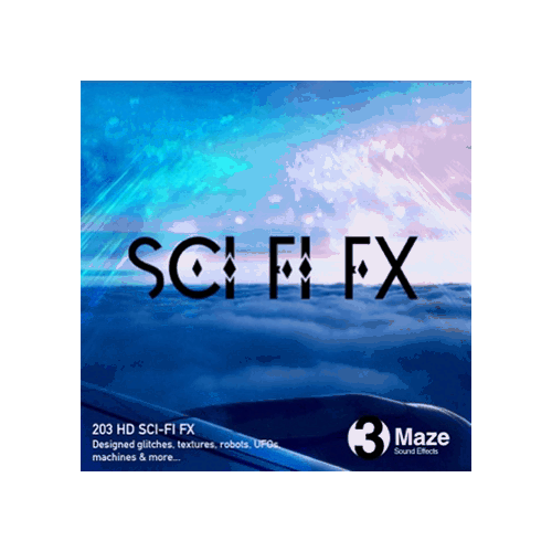 Sci-Fi FX - texture, glitching, and robot Sound effects for games and films designed for fantasy and sci-fi genres