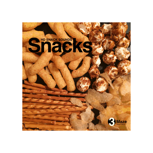 Snacks - Character Eating sound effects for games and video production