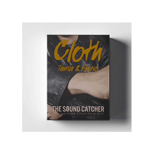 Cloth and fabric movement sound effects