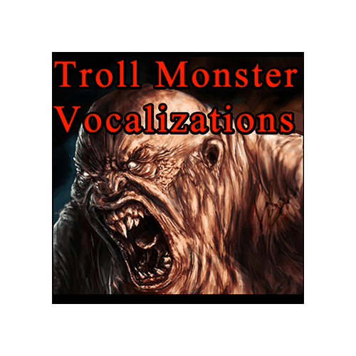 Troll Monster Vocalizations - Character Troll Monster Vocal sound effects library