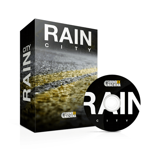 Rain City Environment Sound Effects Library