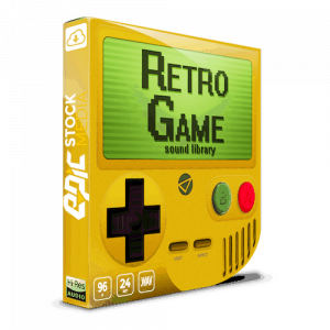 retro game sound effects library epic stock media