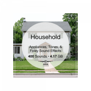 Airborne Household appliances tones and foley sound effects