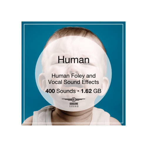 Airborne Human foley and vocal sound effects