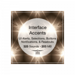 Airborne Interface Accents Ui alerts selections buttons and notification sound effects library