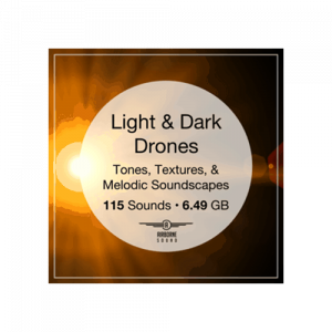 Airborne Light Dark Drones Sound effects ambience library