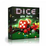 Articulated Sounds Dice Sound effect library
