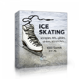 Articulated Sounds Ice Skating sound effects library