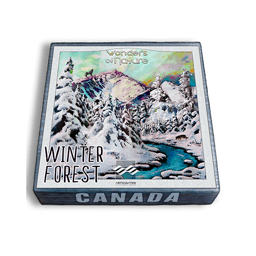 Articulated Sounds Winter Forest ambience sound effects library