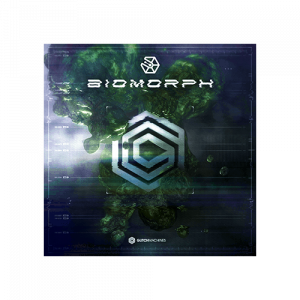 Biomorph cutting-edge sound effects with an alien sci-fi aesthetic