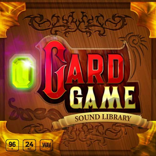 Card Game sound effects library cover