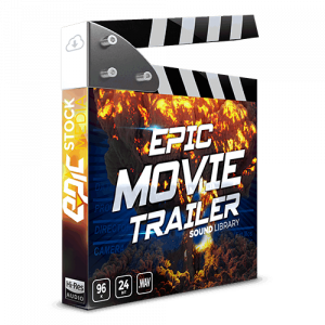 Epic Movie Trailer Cinematic Sound FX Library