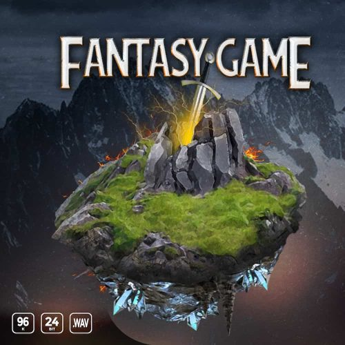 Fantasy Game sound effects library cover