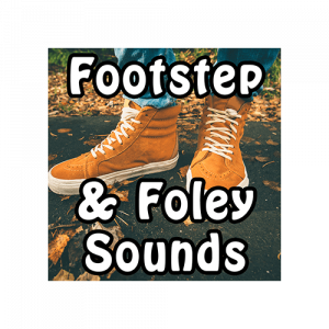 Footsteps and Foley Sounds - footstep sounds and effects for games