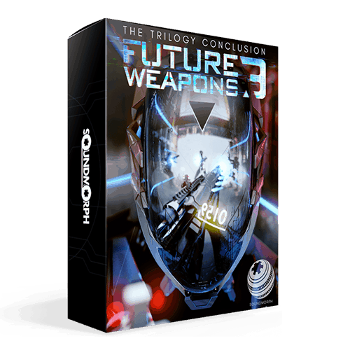 Future Weapons 3 sci fi styled weapon sound effects for games and film