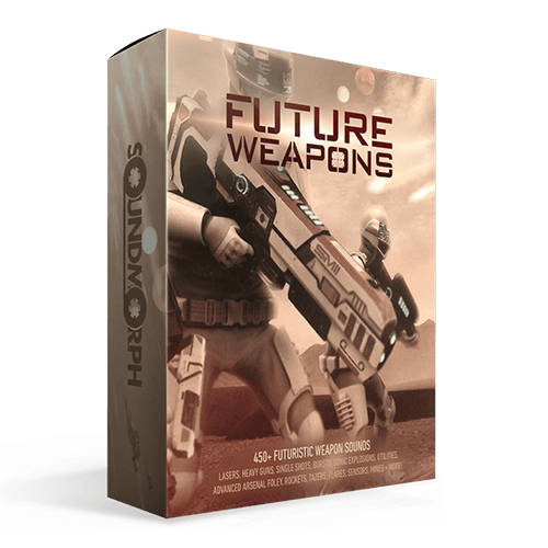 Future Weapons sci fi styled weapon sound effects for games and film