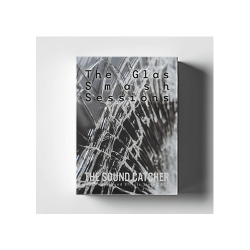 The Glass Smash Sessions sound effect library