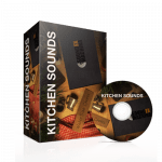 Kitchen Sounds Sound Effects Library