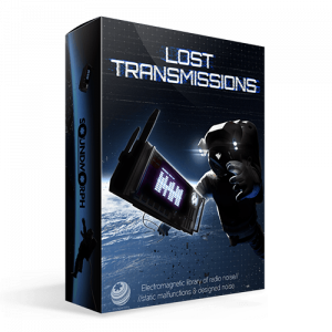 Lost Transmissions a static and radio transmission Sound effects library