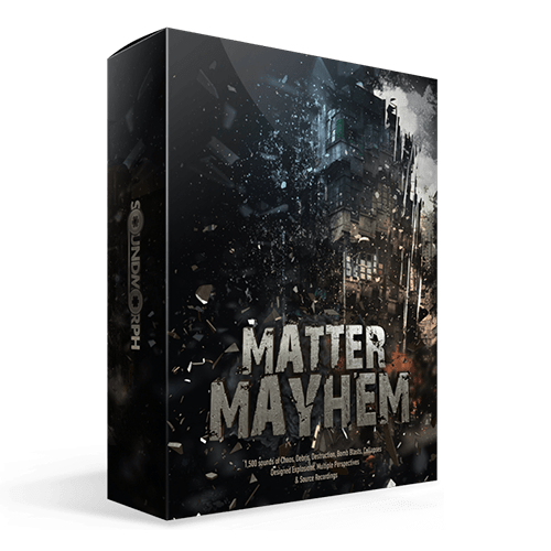 Matter Mayhem massive collection of destruction and impact sound effects
