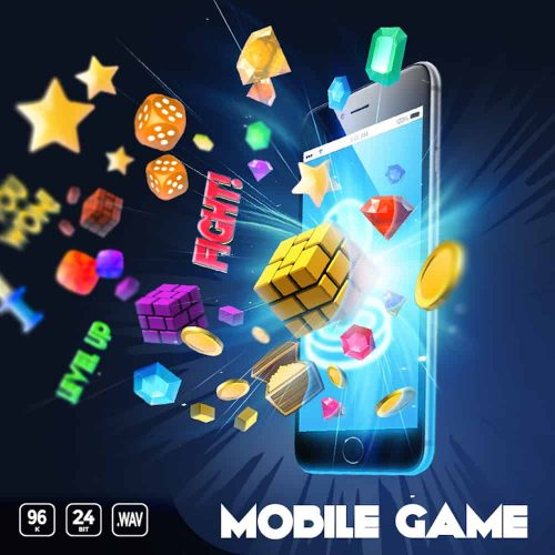 Mobile Game sound effects library cover