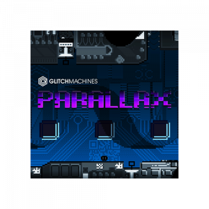 Parallax raw sound effects os old school video games and vintage computer technology