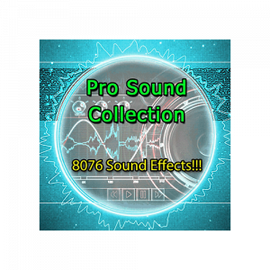 Pro Sound Collection - Massive Sound Effects Bundle for game sounds and films