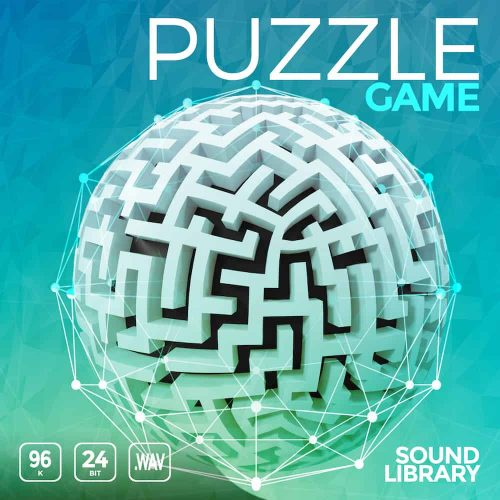 Puzzle Game sound effects library cover