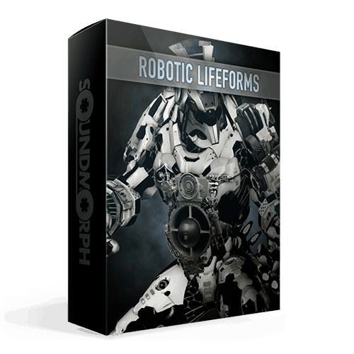 Robotic Lifeforms Massive sound effect library of Robotic creations and textures