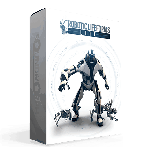 Robotic Lifeforms Lite Robotic sound effects for game and audio productions