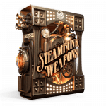 Steampunk Weapons Sound Effects library