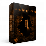 Tension eerie ambiences and ominous drones sound library