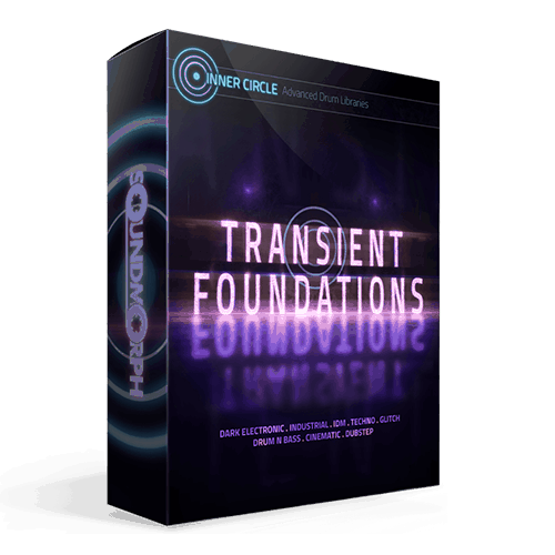 Transient Foundations electronic and glitch drum sample library