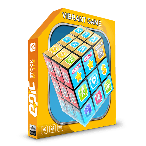 Vibrant Game - A Sound FX library perfect for: 2D, 3D, mobile app, puzzle, cartoon and animated games