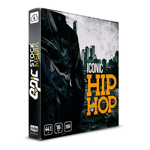 Iconic Hip Hop drum sample pack