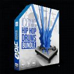 Iconic Hip Hop Drums Master Bundle - 9 drum sample libraries 2000+ iconic hip hop drum kits, loops, kicks, snares, and hats