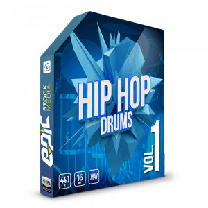 Iconic Hip Hop Drums Vol. 1 - robust old school styled drums sample packs