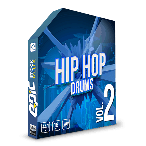 Iconic Hip Hop Drums Vol. 2 - robust old school styled drums sample packs