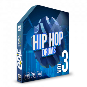 Iconic Hip Hop Drums Vol. 3 - robust old school styled drums sample packs
