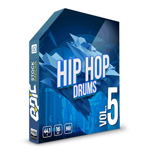 Iconic Hip Hop Drums Vol. 5 - robust old school styled drums sample packs