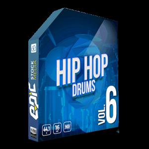 Iconic Hip Hop Drums Vol. 6 - robust old school styled drums sample packs