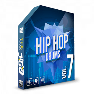 Iconic Hip Hop Drums Vol. 7 - robust old school styled drums sample packs