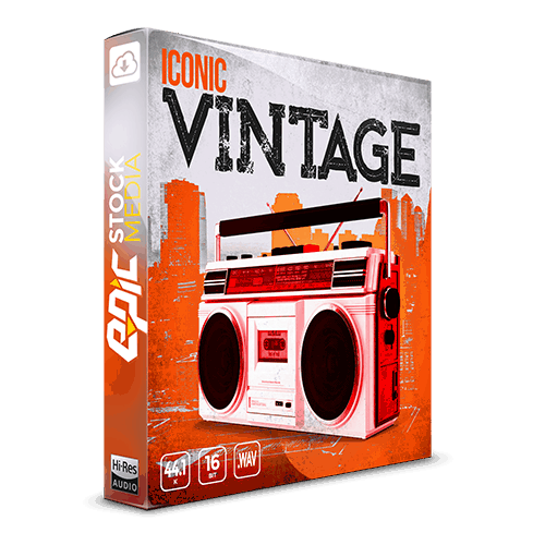 Iconic Vintage - the most in-demand hip-hop Vintage drums and samples