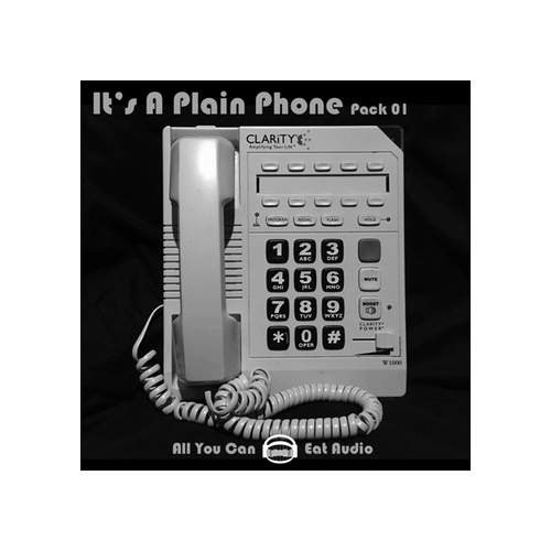 It's A Plain Phone Pack 1 Sound Effect Library