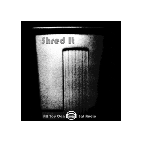 Shred It Sound effects library
