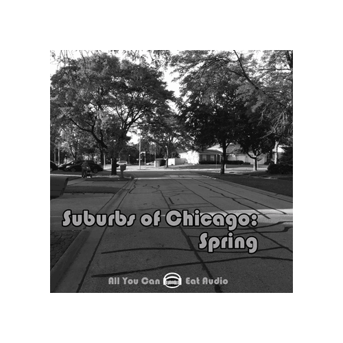 Suburbs of Chicago Spring environment Sound Effects Library